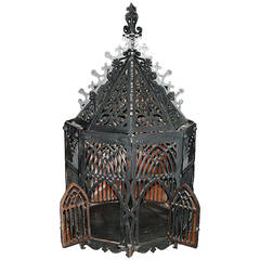 English 19th Century Bird Cage