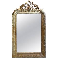 French 19th Century Napoleon III Mirror