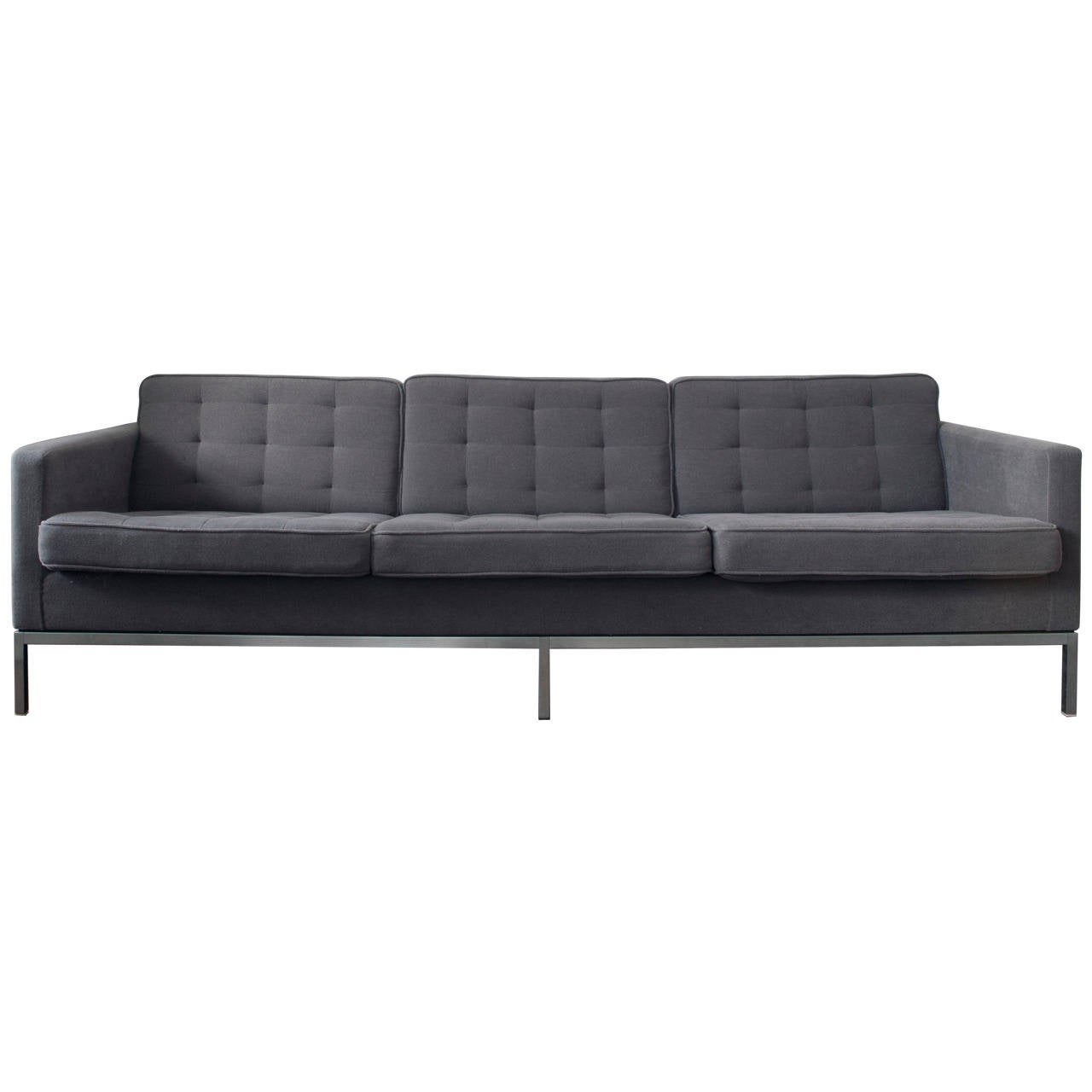 Florence knoll sofa by knoll associates for Knoll and associates