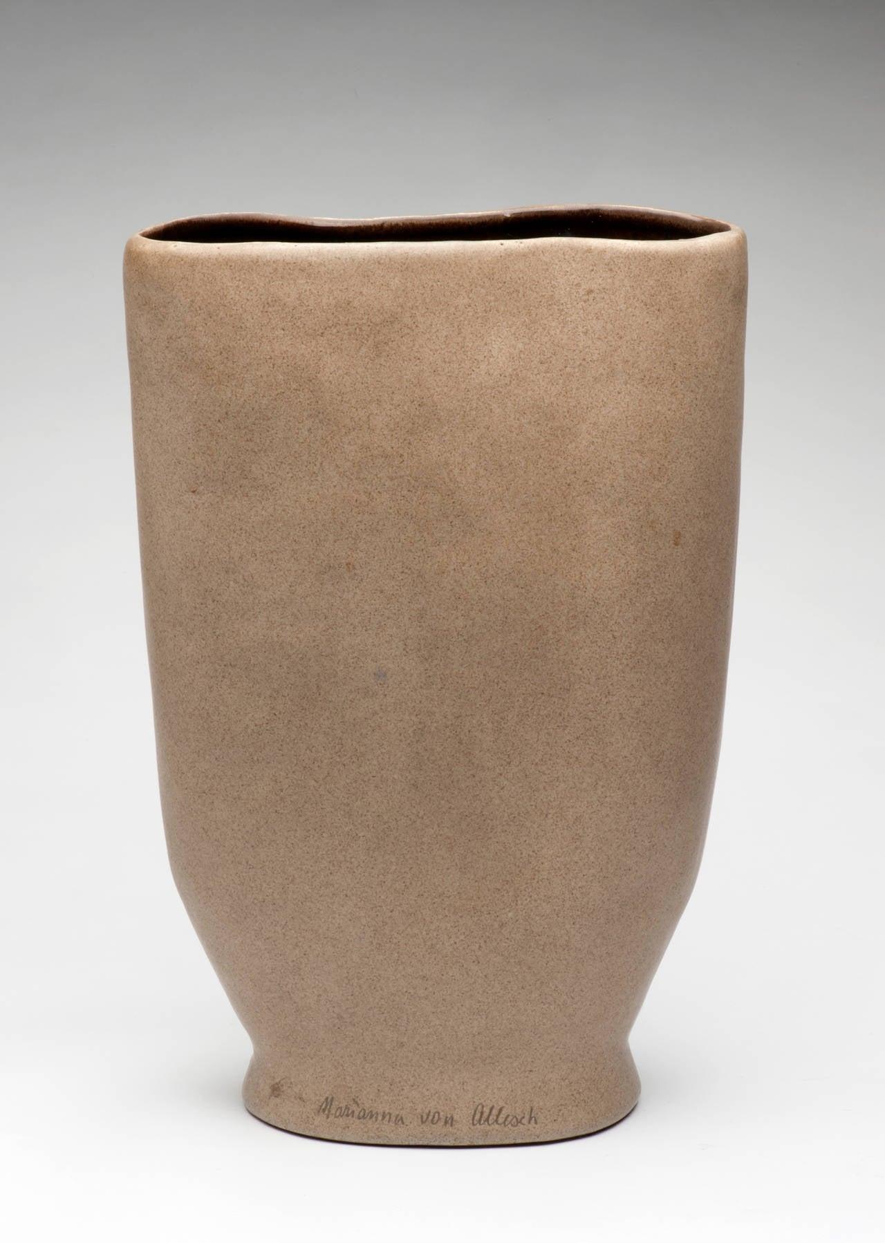 marianna von allesch mid century modern vase for sale at. Black Bedroom Furniture Sets. Home Design Ideas