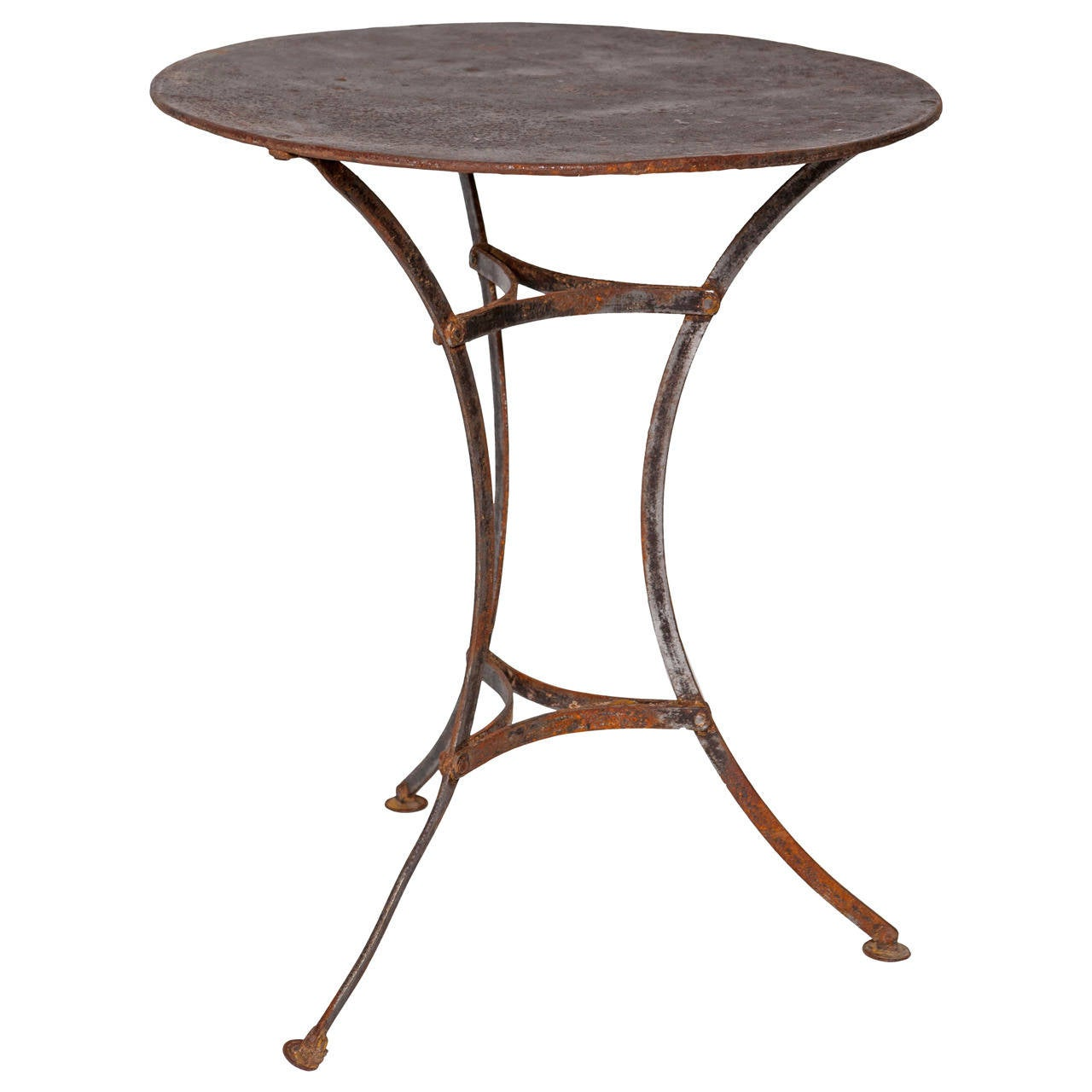french bistrot table at 1stdibs. Black Bedroom Furniture Sets. Home Design Ideas