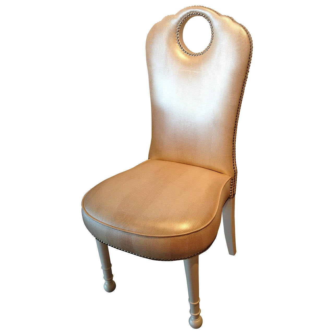 Hollywood Glam Decorative Chair at 1stdibs