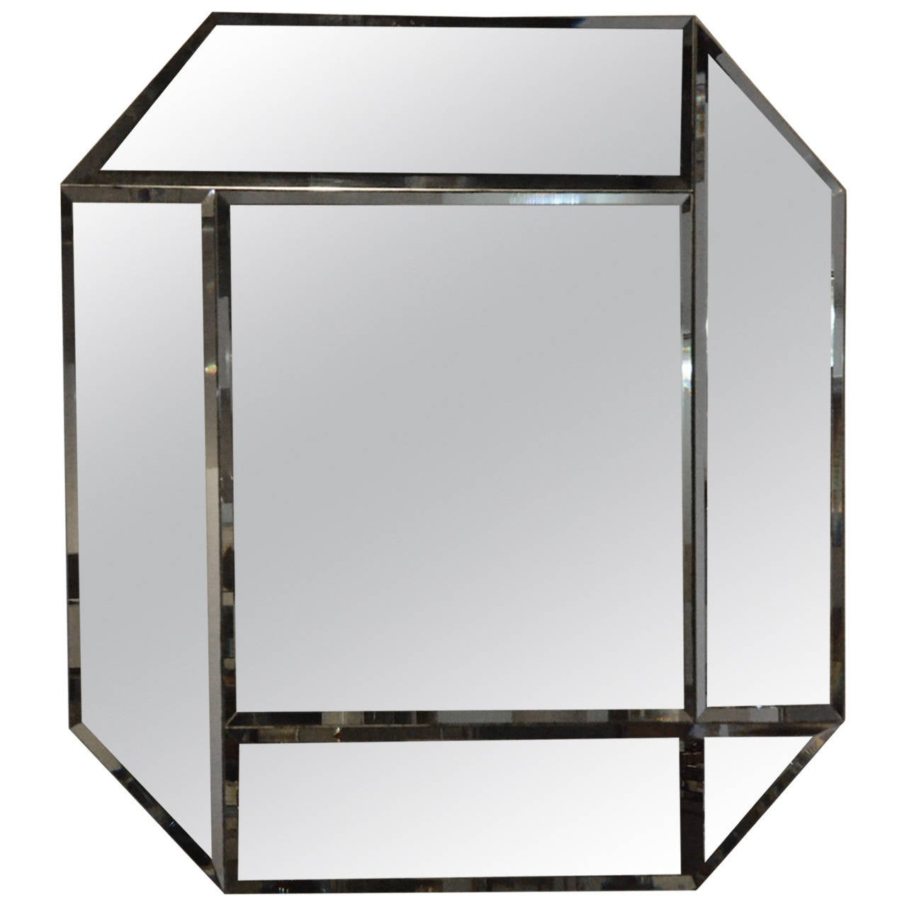 Geometric Mirror Signed By Dan Johnson At 1stdibs. Safari Decor. Extendable Glass Dining Table. Living Room Hammock. Siematic Kitchens. Bed With Shelves. Oversized Beds. Monsey Glass. Vanity Chair For Bathroom