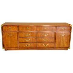 Drexel Heritage Campaign Dresser or Credenza