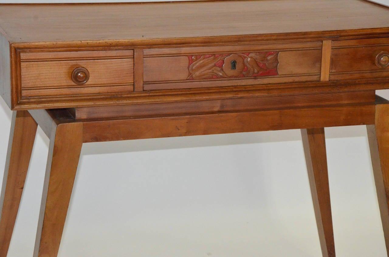 italian midcentury modern writing table or desk at stdibs - italian midcentury modern writing table or desk