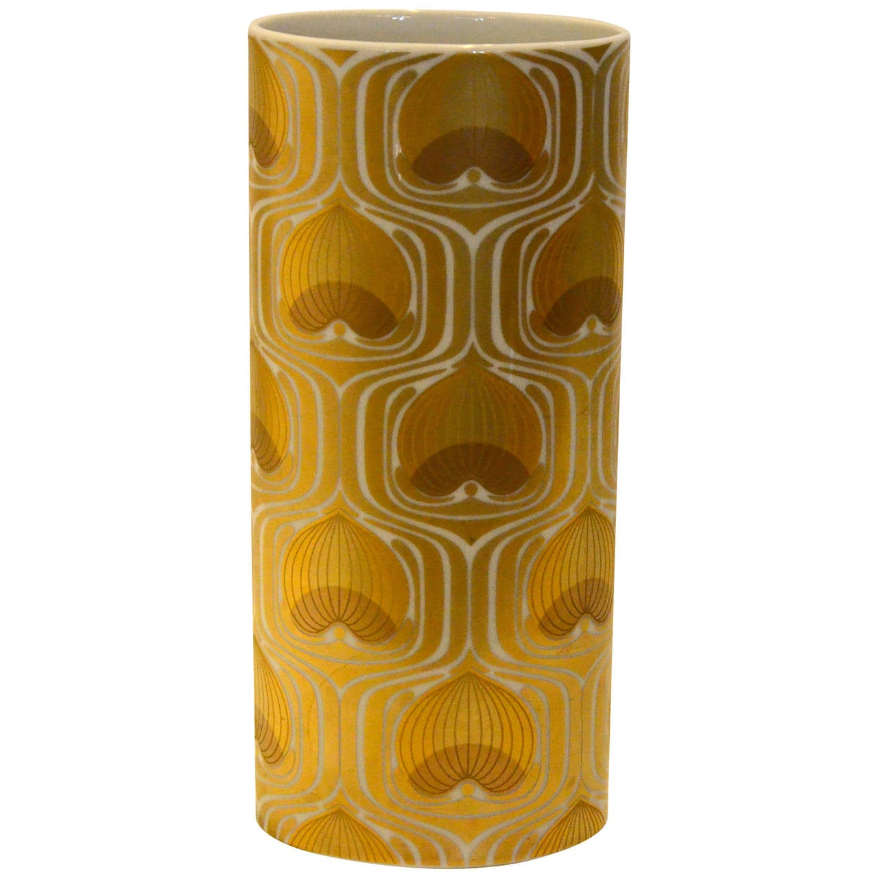 100th anniversary rosenthal gold and white porcelain vase at 1stdibs 100th anniversary rosenthal gold and white porcelain vase for sale reviewsmspy