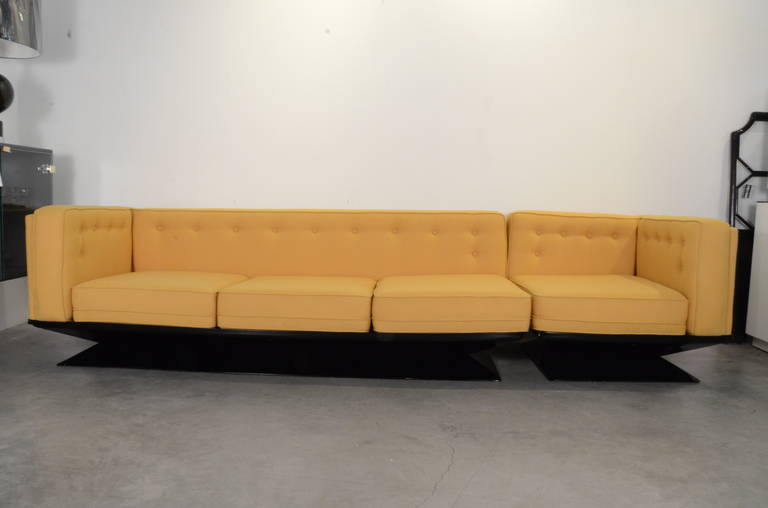 Superieur Mid Century Modern Mid Century Modern MIM Roma Refurbished Sectional Sofa  By Luigi Pellegri For