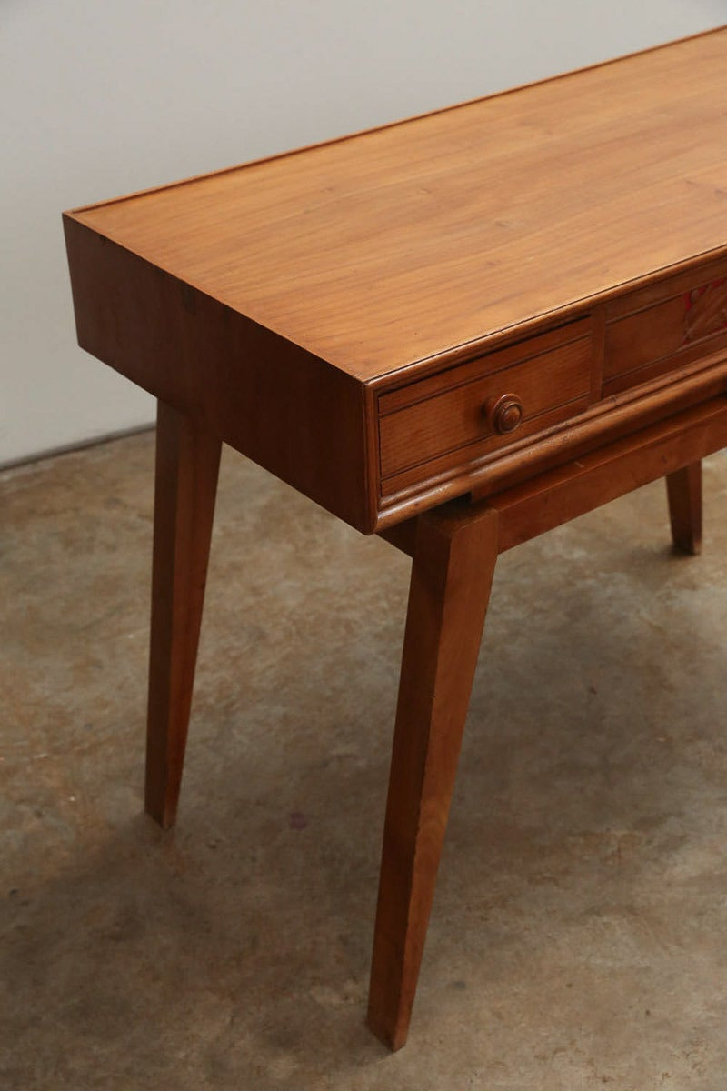 Italian Mid Century Modern Writing Table Or Desk At 1stdibs