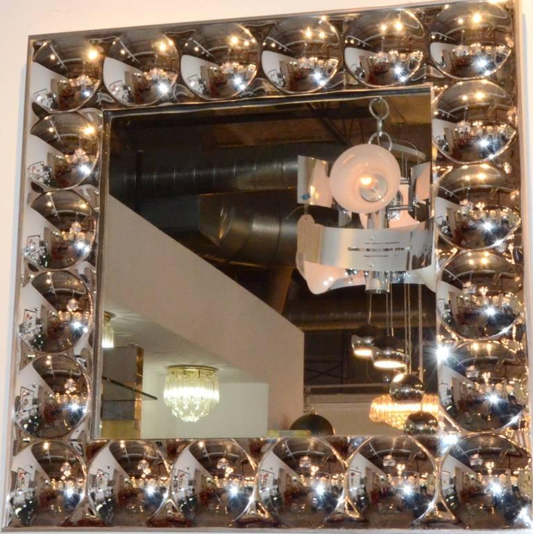 Turner Bubble Mirror At 1stdibs