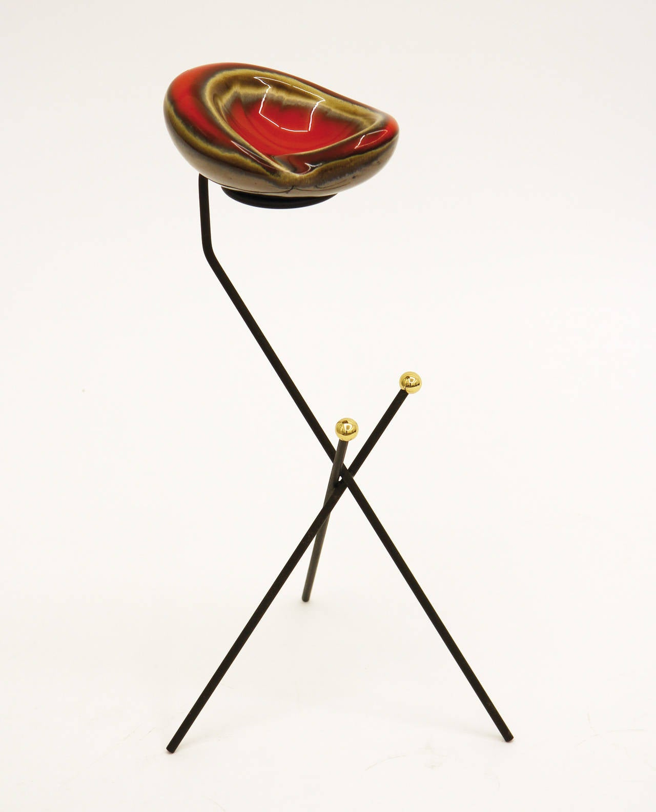 French Modernist Tripod Ashtray or Catch-All, 1950s For Sale 1