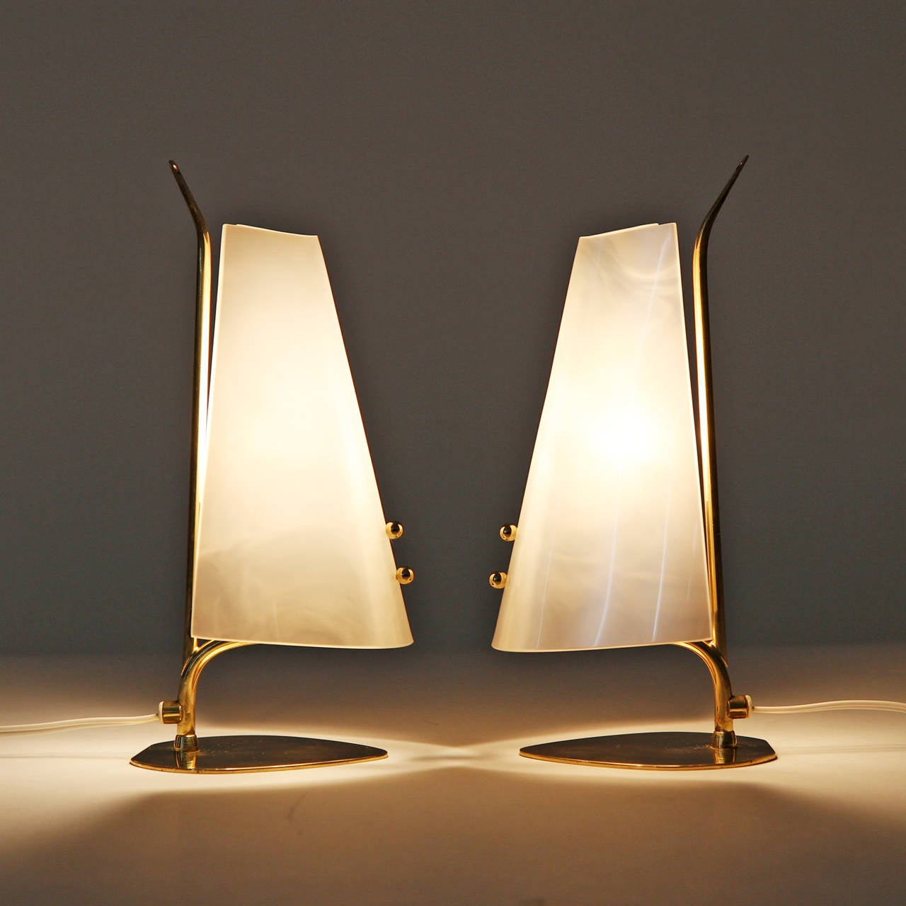 Unique lamps for sale - Unique Lamps For Sale Unique Pair Of Brass And Perspex Table Lamps For Sale At