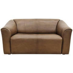 De Sede Two-Seat Leather Sofa DS 47