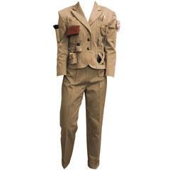 Moschino Khaki Survival Suit