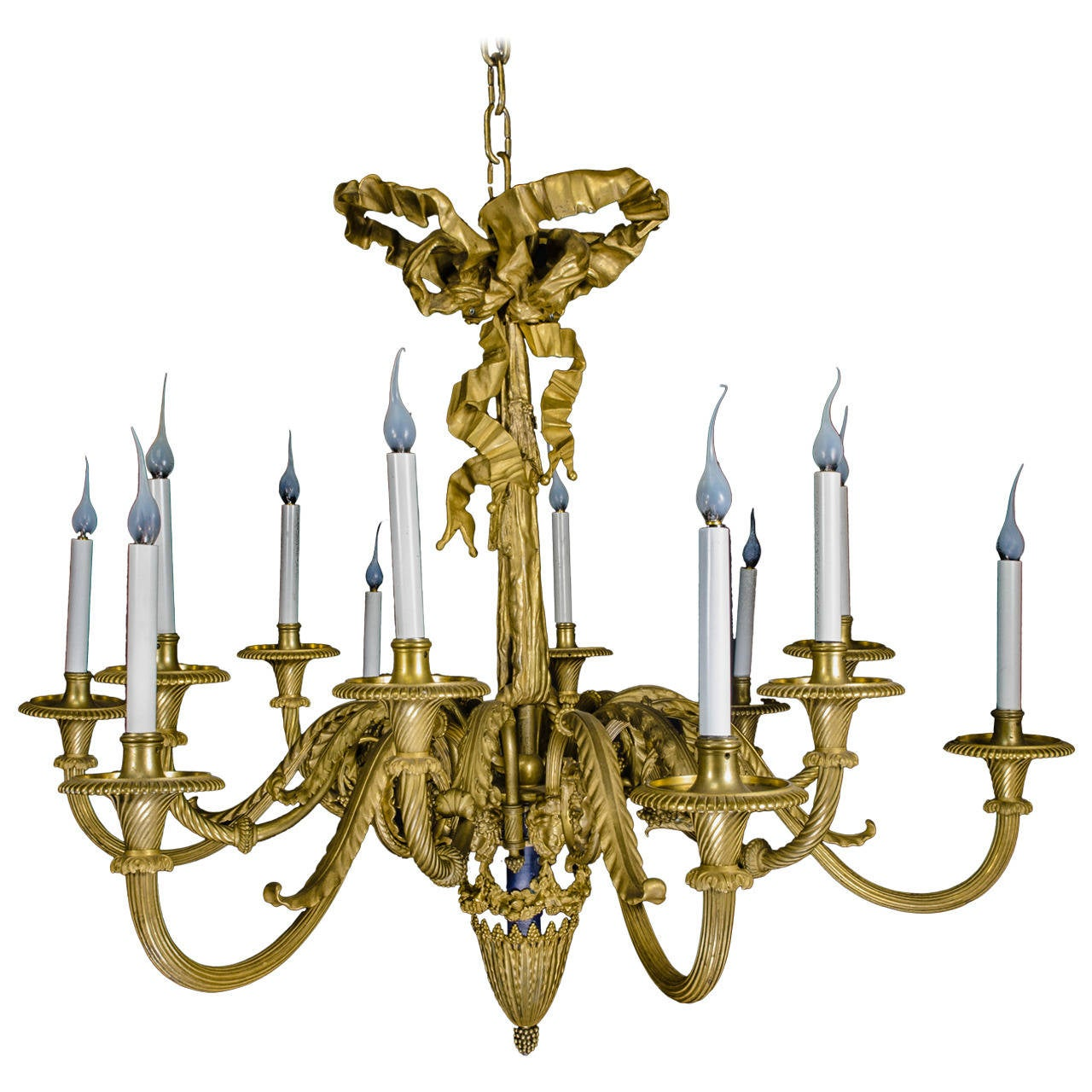 Magnificent Antique French Louis XVI Style Gilt Bronze and ...