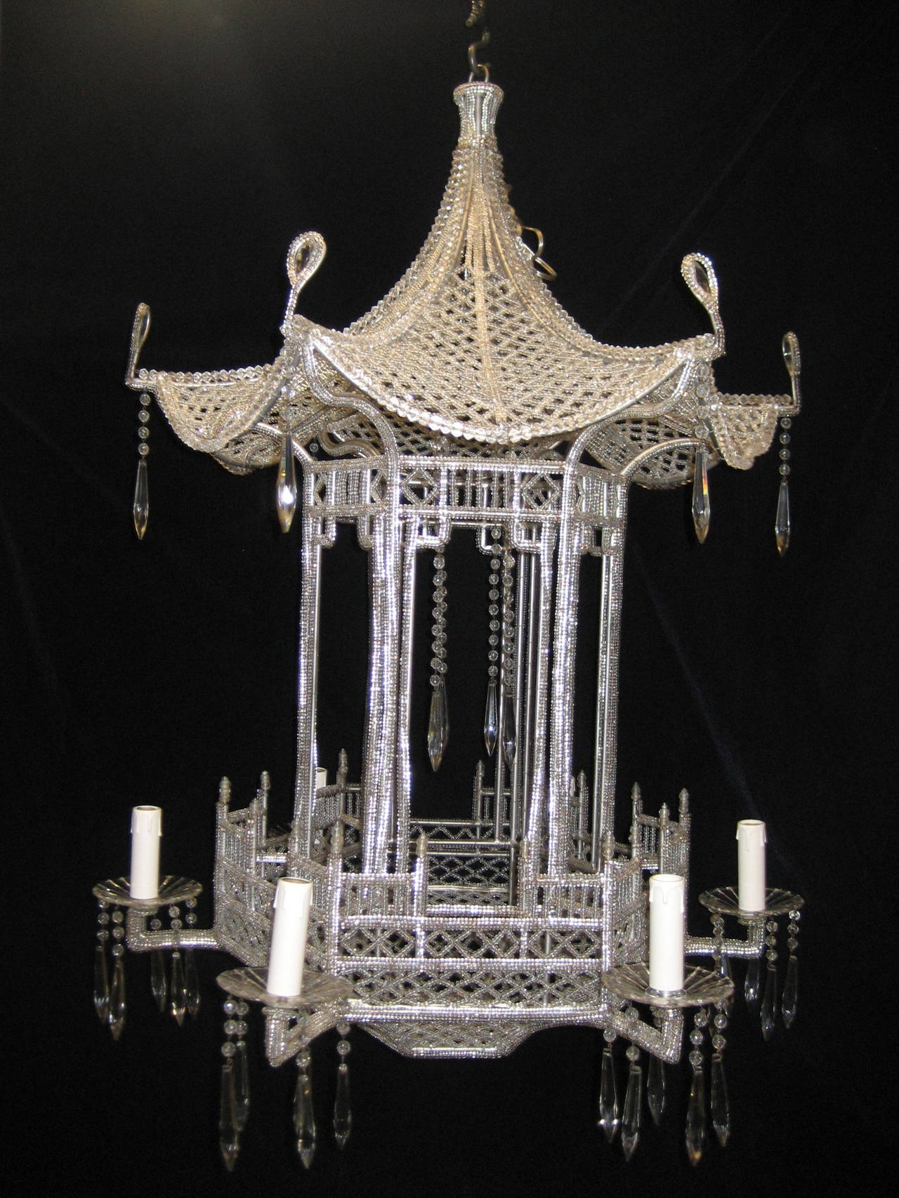 pendant at f pagoda monumental stylish crystal bagues beaded and light chandeliers id chandelier furniture lights lighting