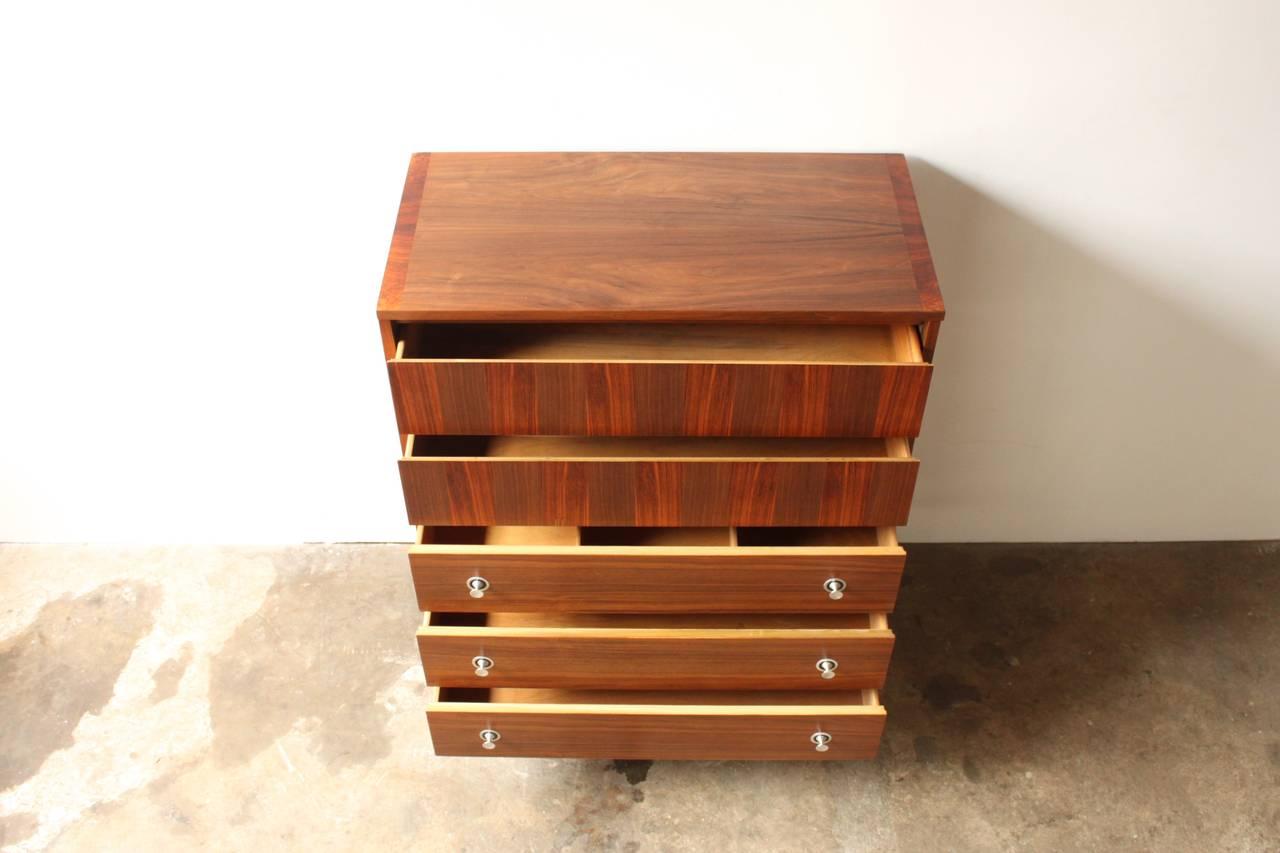 Walnut Dresser By Stanley At 1stdibs