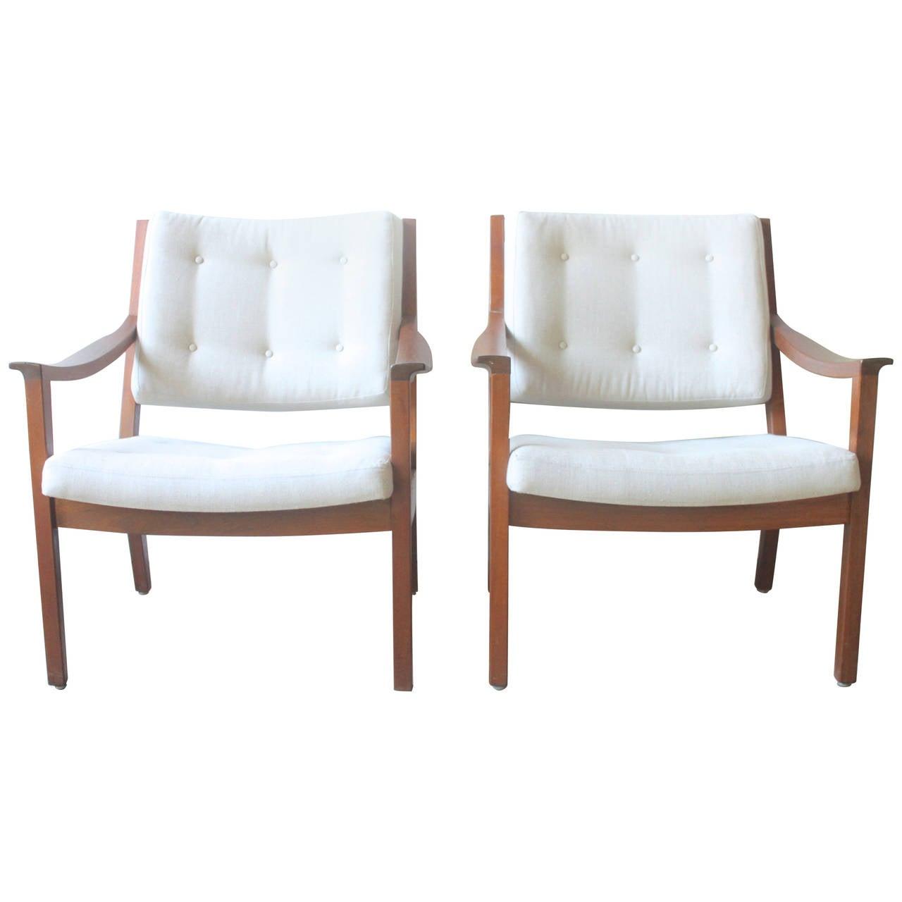 Gunlocke Lounge Chairs At 1stdibs
