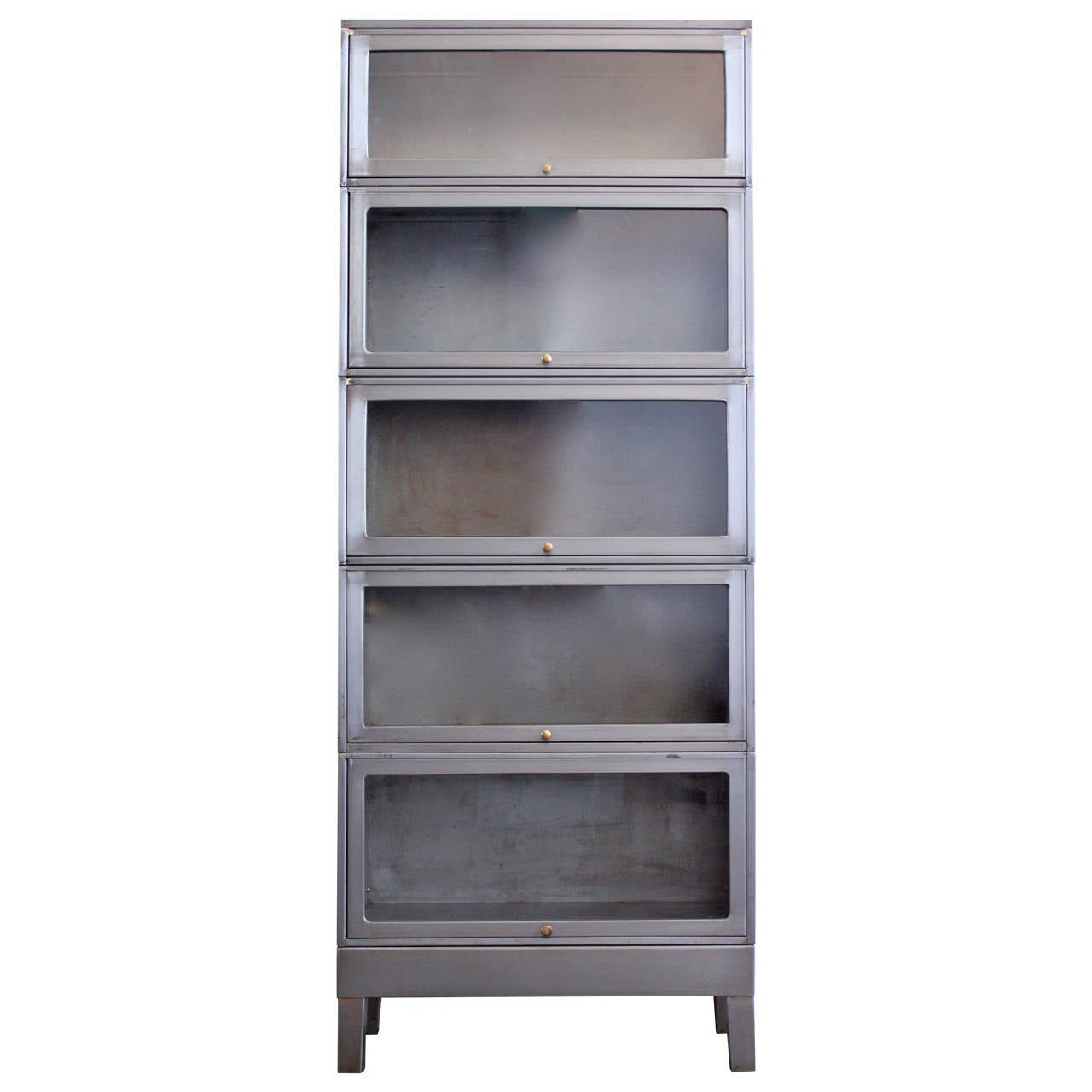 Industrial Barrister Bookcase 1