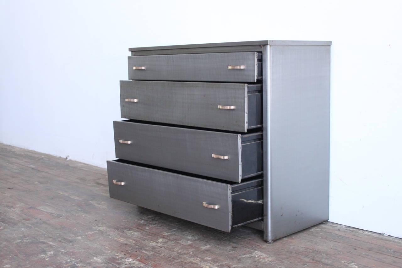 Industrial Metal Dresser At 1stdibs
