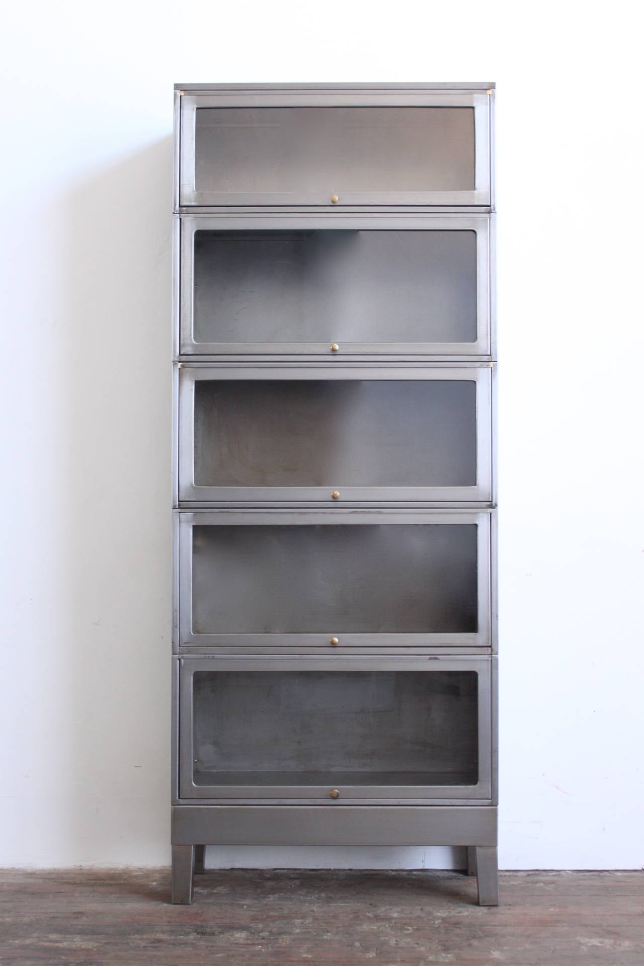 Industrial Barrister Bookcase 2