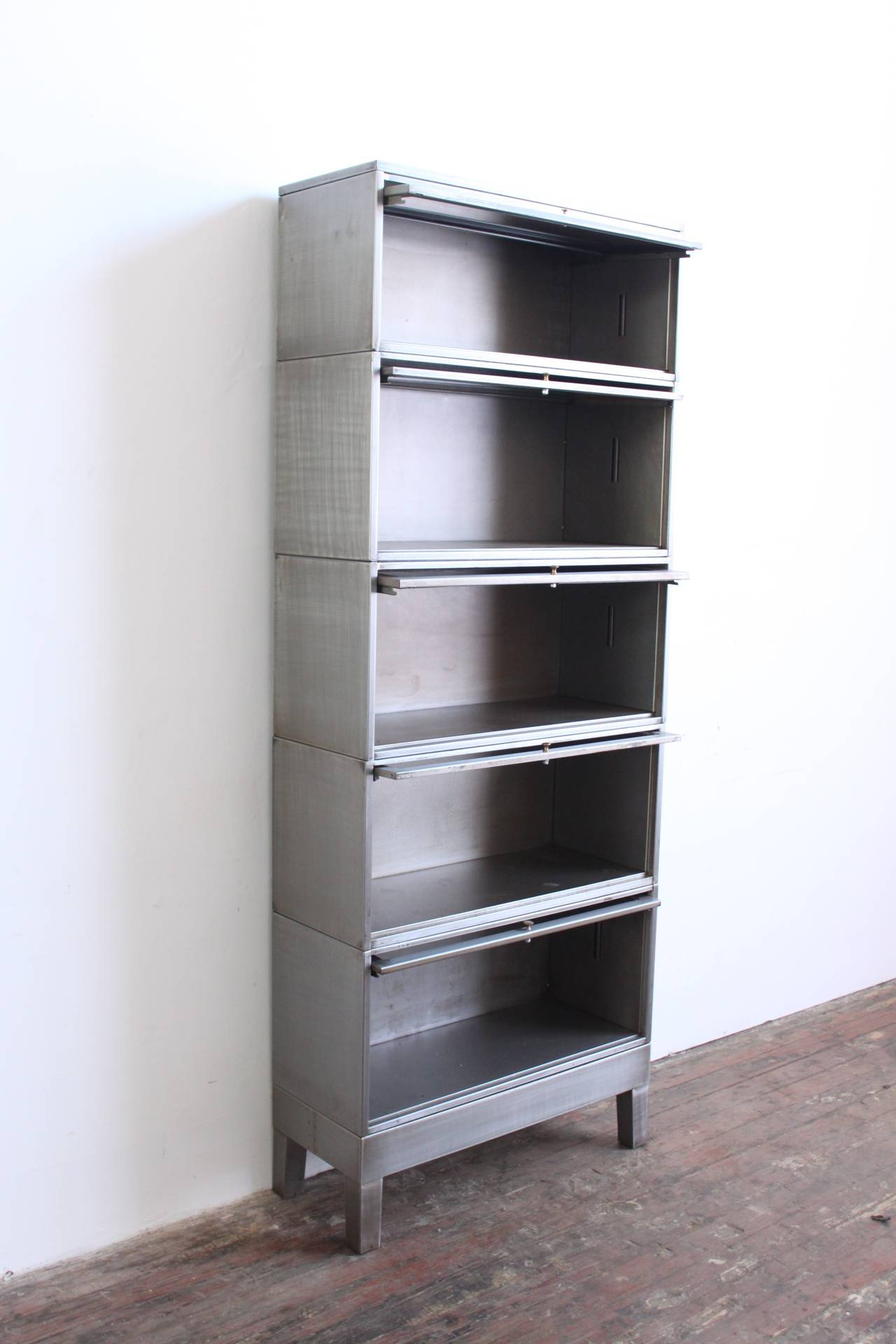 Industrial Barrister Bookcase 3