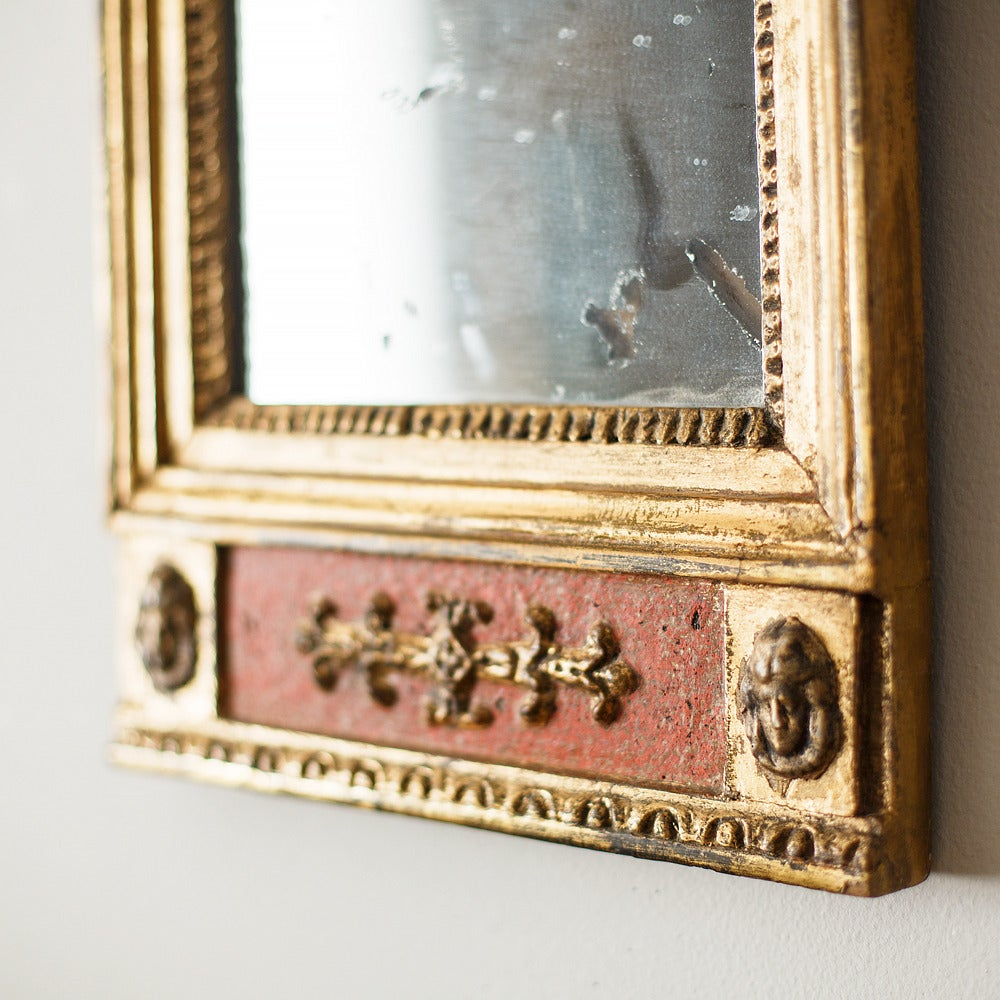 Pair of 19th Century Swedish Empire Mirrors In Good Condition In Helsingborg, SE
