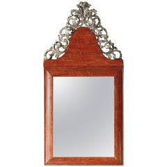 18th Century Norwegian Baroque Mirror