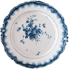 18th Century Swedish Faience Plate