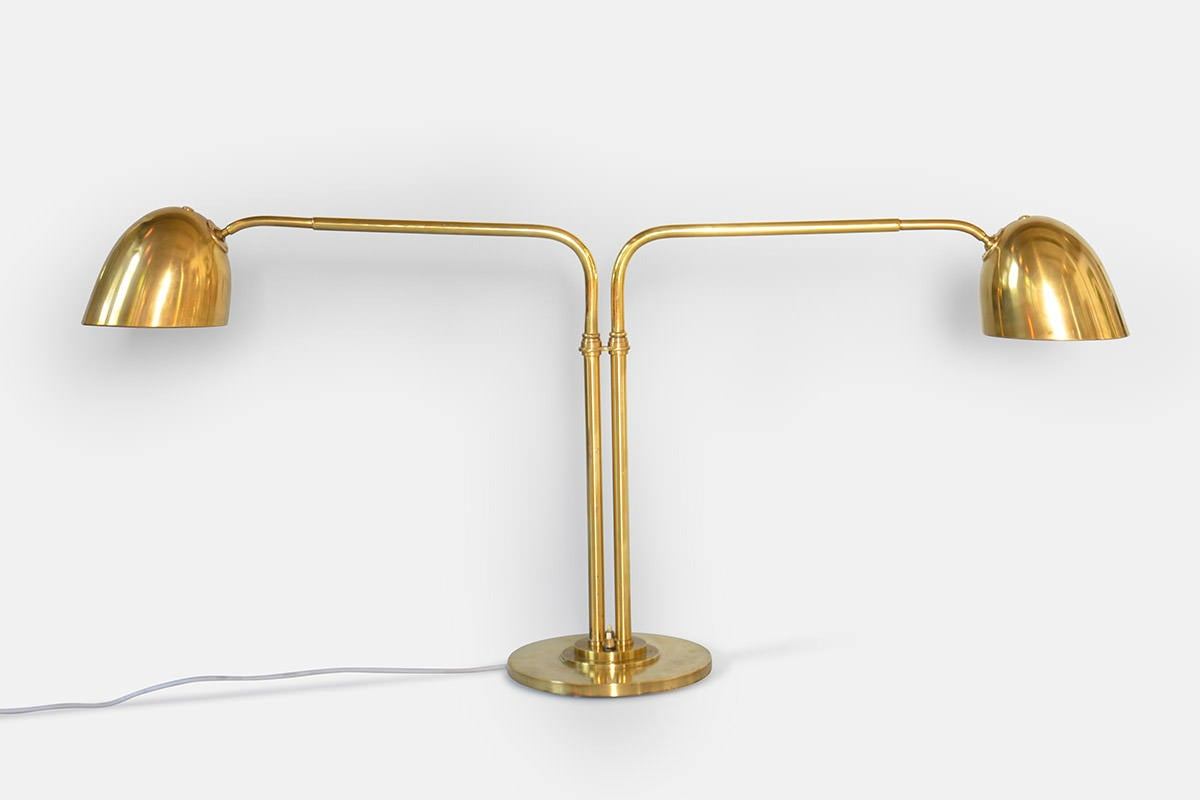 post office table lamp by vilhelm lauritzen for sale at