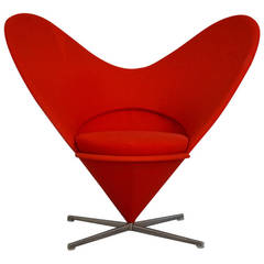 Heart Chair by Verner Panton