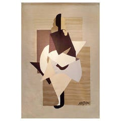 "Tapestry ""Woman"", After Albert Gleizes"