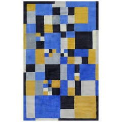 Original Rug, After Sonia Delaunay