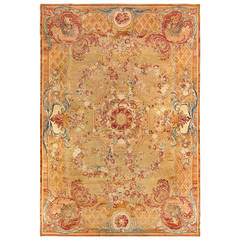 Exceptional Antique 19th Century French Savonnerie Rug