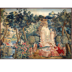 "Brussels Mid-17th Century Tapestry ""Allegory of Spring"""
