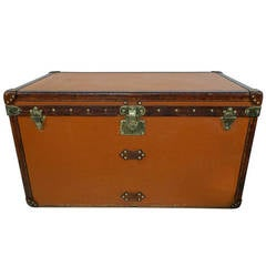 Louis Vuitton Vuitonitte Orange Trunk, Malle Louis Vuitton, 1914