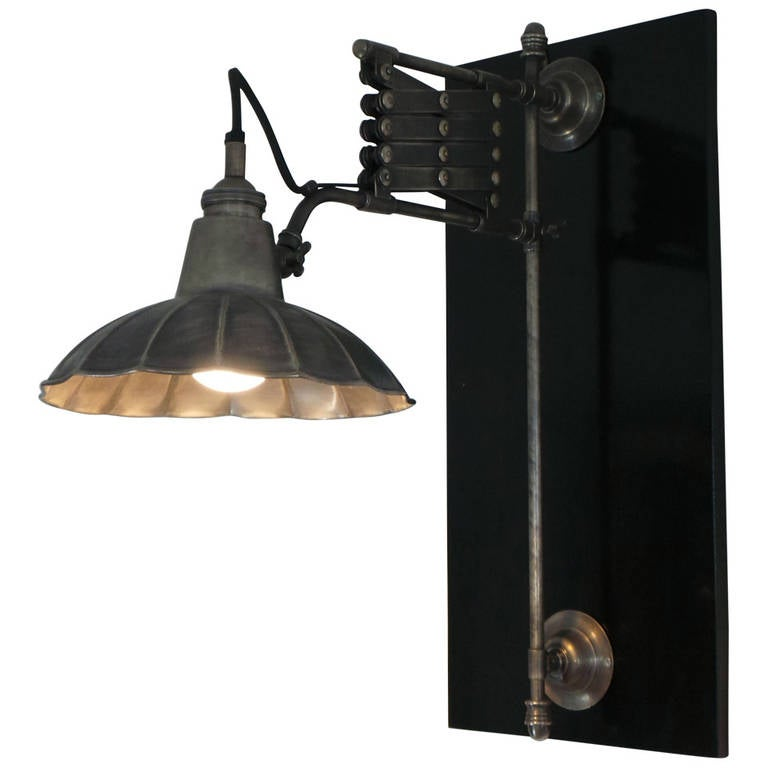 Wall Extension Lamps : Industrial Extension Wall Lamp Circa 1940s at 1stdibs
