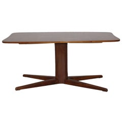 Mid-Century Modern Vintage Walnut Coffee Table Oswald Haerdtl, 1949 Austria