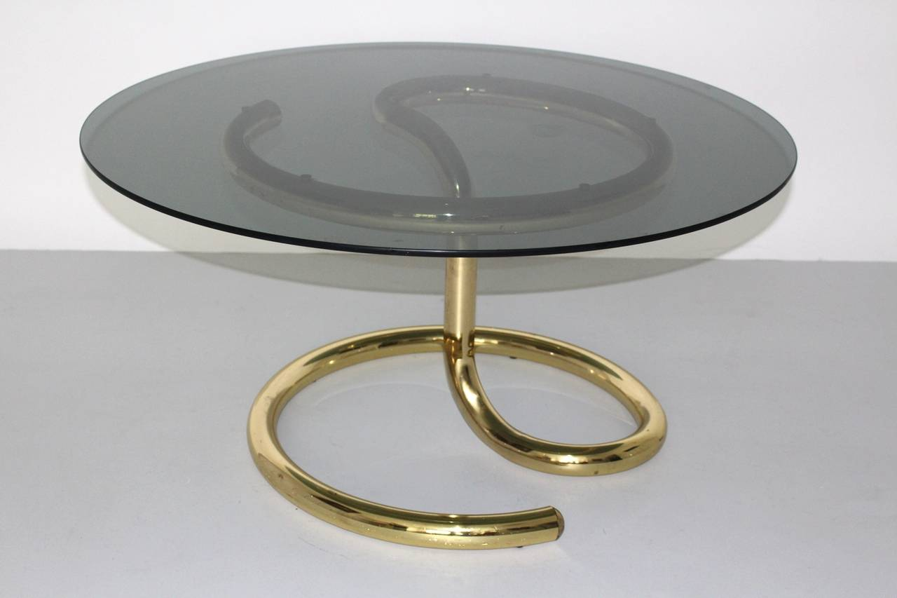 "coffee table ""Anaconda"" in the style of  Paul Tuttle, Switzerland, circa 1970
