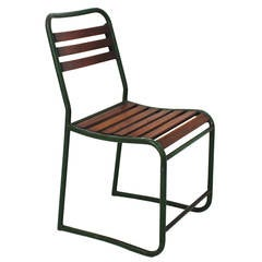 Max Fellerer & Eugen Wörle Garden Tubular Steel Chair Vienna, Austria, 1948