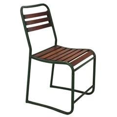 Mid Century Modern Max Fellerer Eugen Wörle Vintage Garden Chair Steel 1948