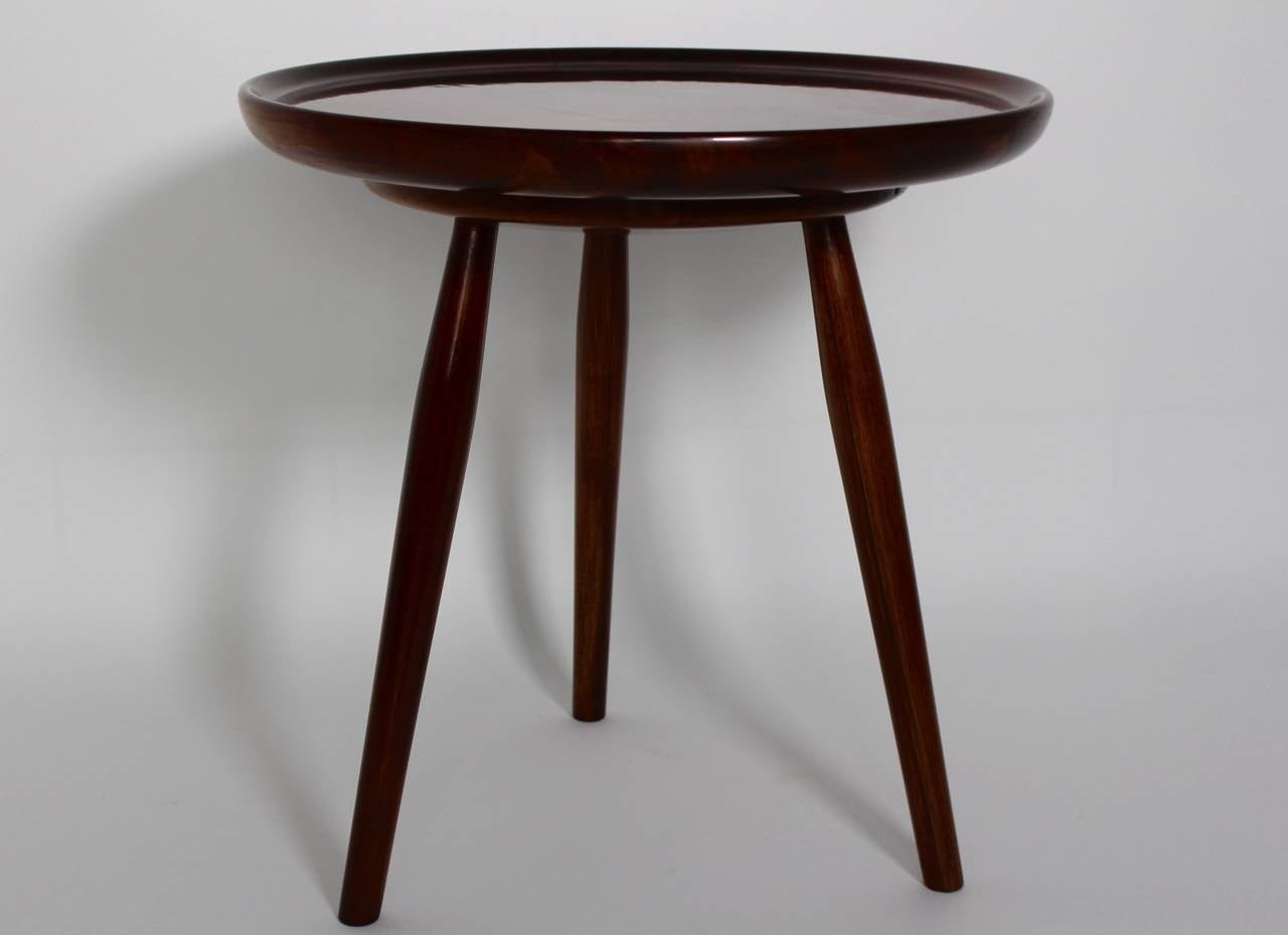 Art Deco Walnut Coffee Table By Josef Frank Vienna Austria 1925 For Sale At 1stdibs
