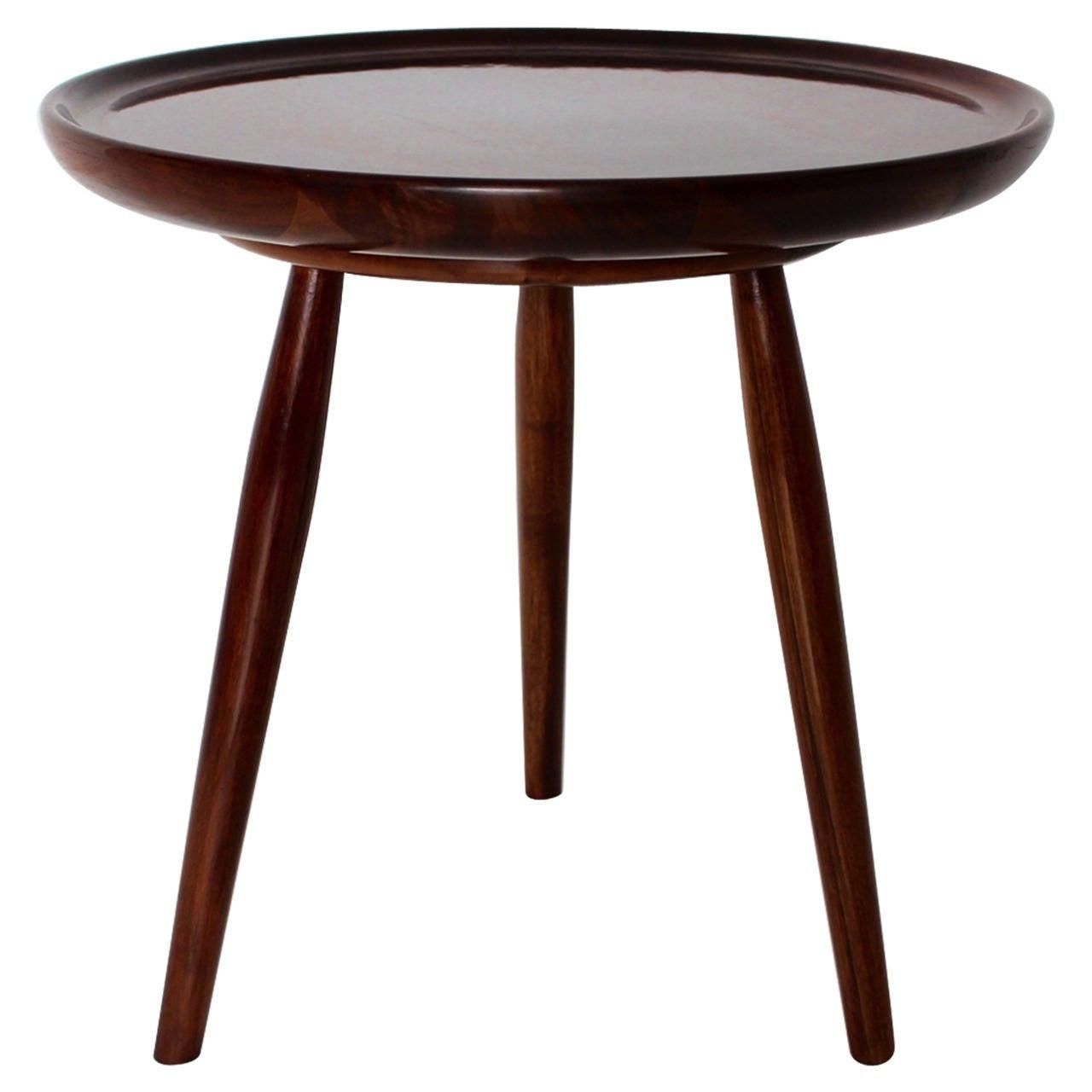 Art deco walnut coffee table by josef frank vienna for Walnut coffee table