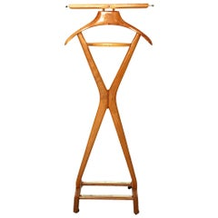 Mid-Century Modern Vintage Beech Valet by Ico and Luisa Parisi, 1950s, Italy