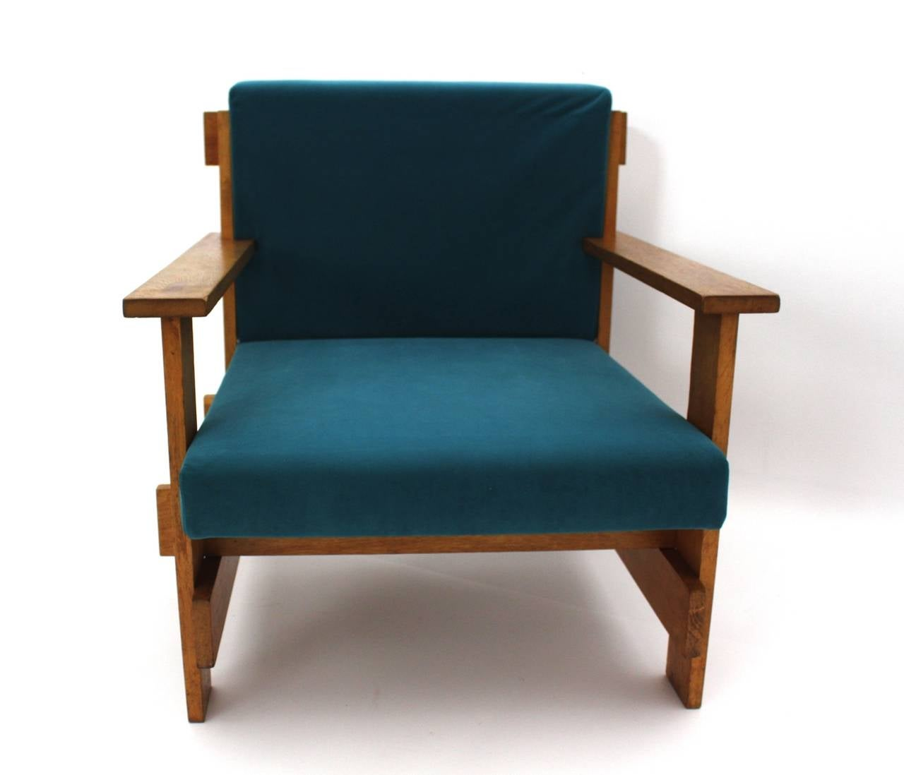 Bauhaus Lounge Chair In The Style Of Josef Albers Germany 1920s At