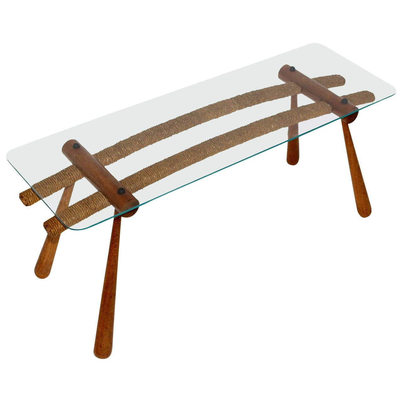 Mid Century Modern Coffee Table By Max Kment Vienna Austria 1955 For Sale At 1stdibs