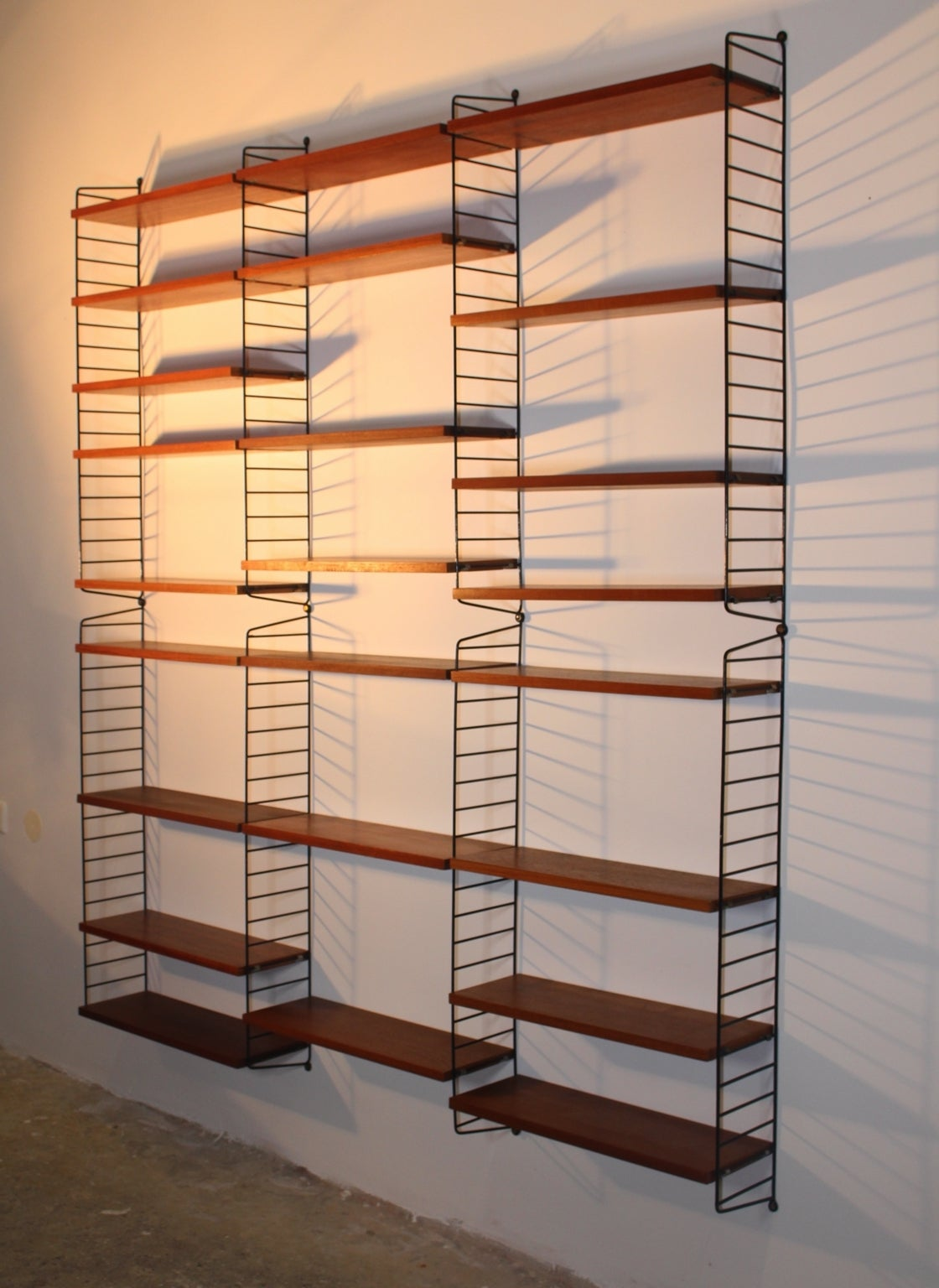 Original String Shelf Ladder Shelf By Nisse Strinning