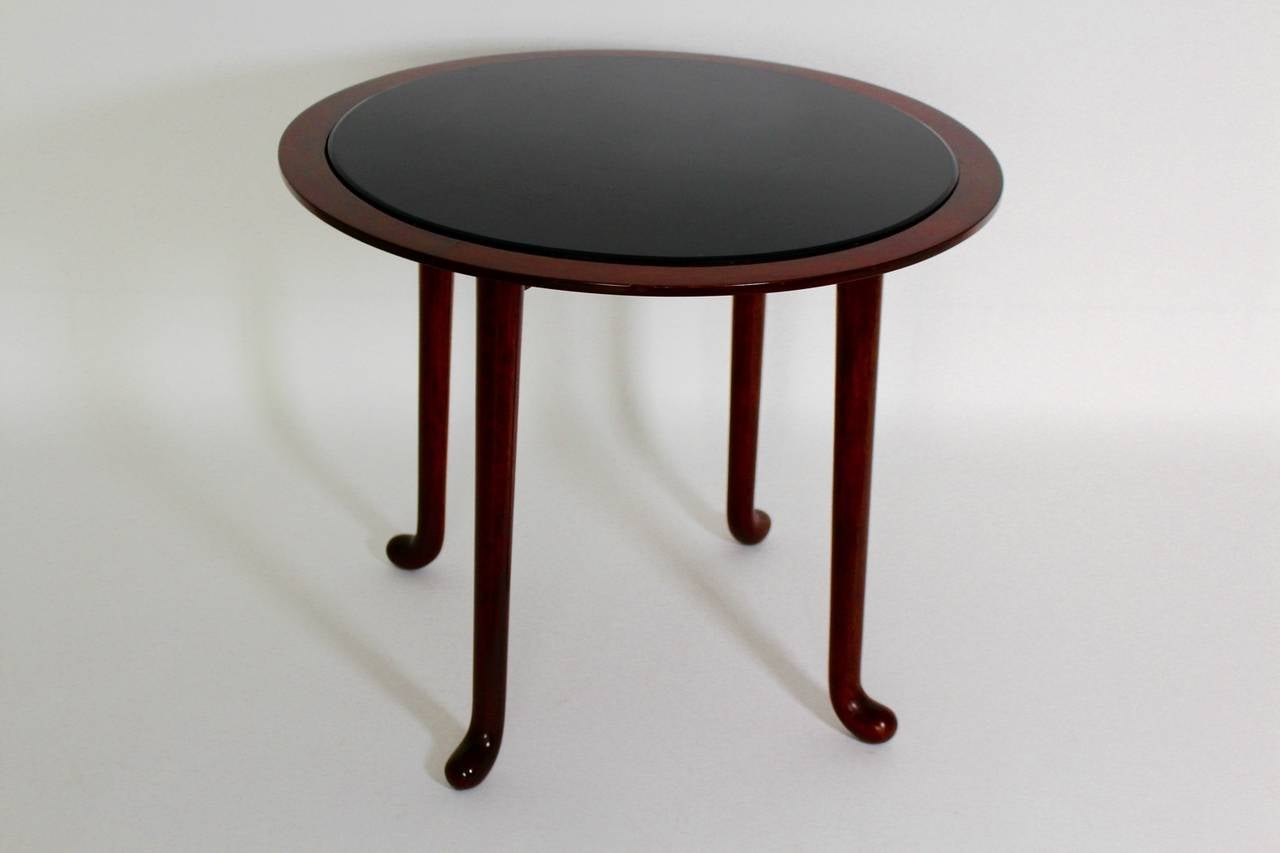 20th Century Art Deco Vintage Walnut Side Table by Josef Frank, Vienna, circa 1930 For Sale