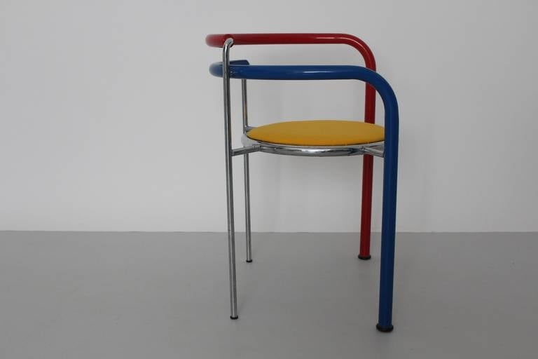20th Century Multicolored Seating Group by Rud Thygesen and Johnny Sorensen Denmark c 1989 For Sale