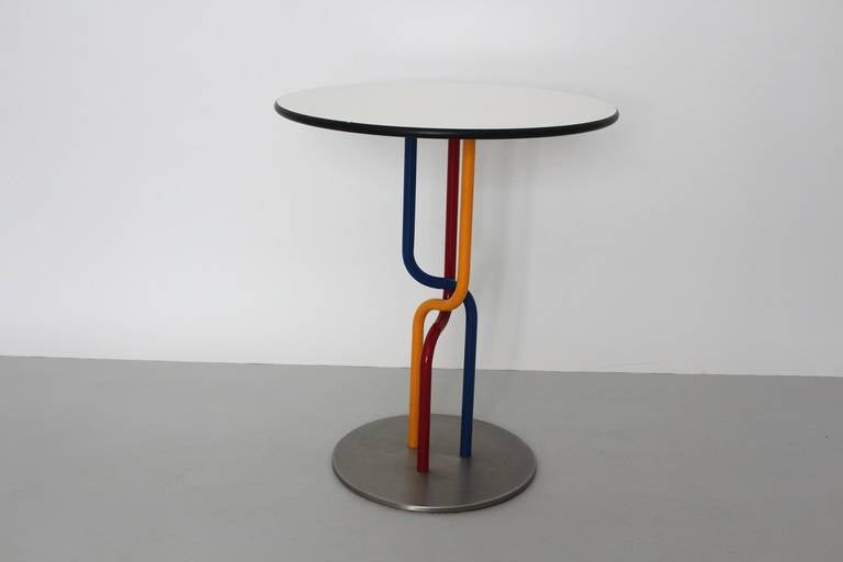 Multicolored Seating Group by Rud Thygesen and Johnny Sorensen Denmark c 1989 For Sale 1