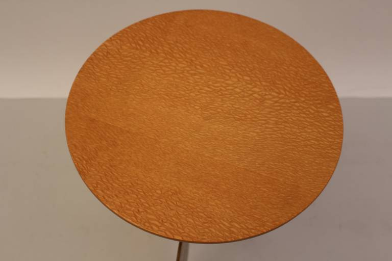 Gilt Side Table by Sergio Terzani Italy 1985 For Sale